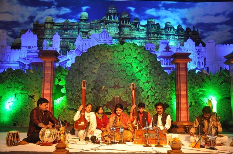 Tansen Samaroh (A Gathering for Tansen) happens once a year