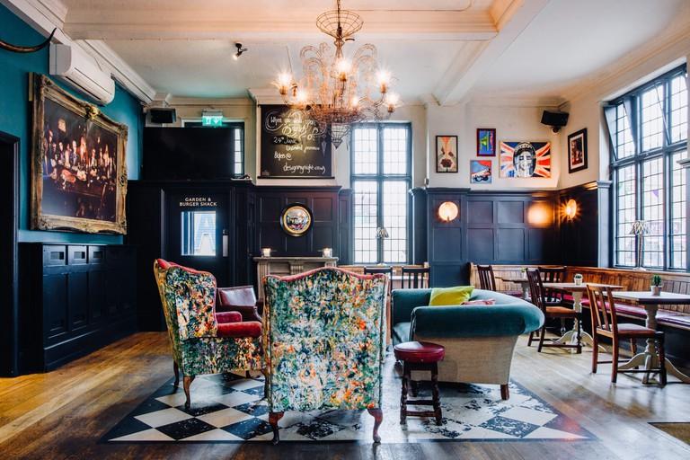 The Half Moon pub | Courtesy of The Half Moon