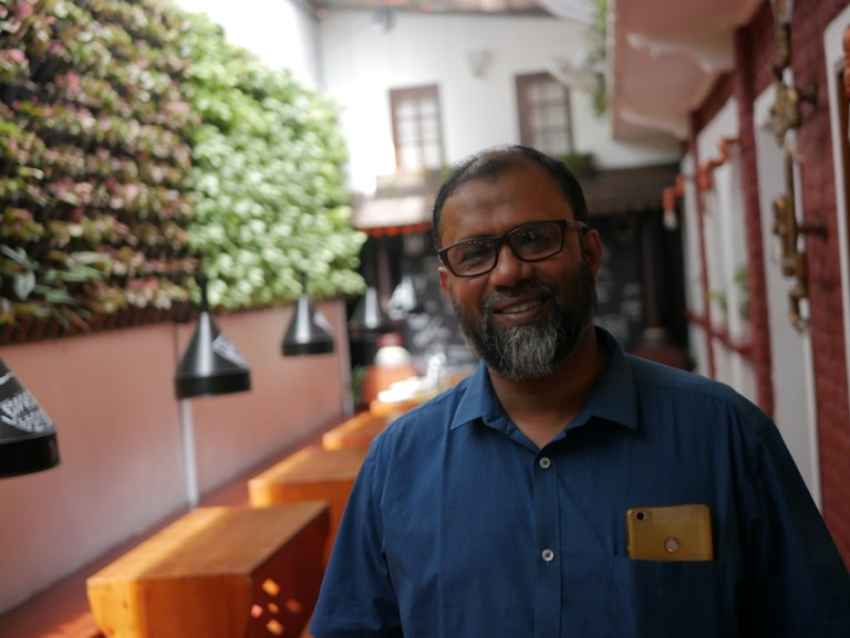Junaid Sulaiman is passionate about the cafe he has painstakingly built