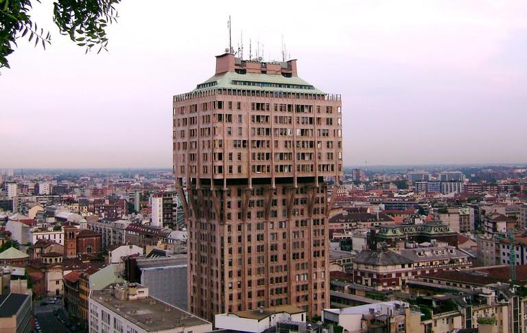 Brutalist building Torre Velasca, Milan | © David Orban/Flickr