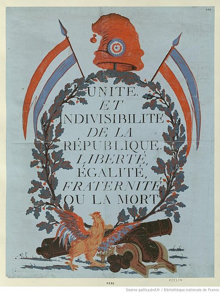 The motto of the French republic