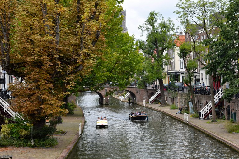 Utrecht's canals are stunning