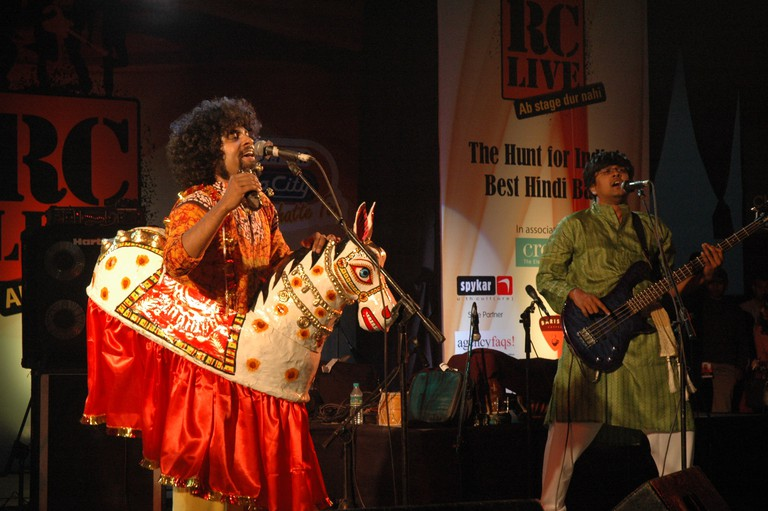 Swarathma performs at a live event