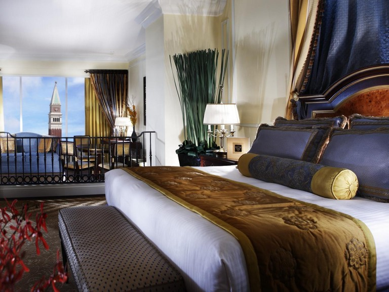 One of the Venetian's Macao's 3,000 luxury guest suites