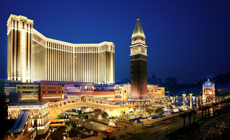 Venetian Macao biggest casino resort