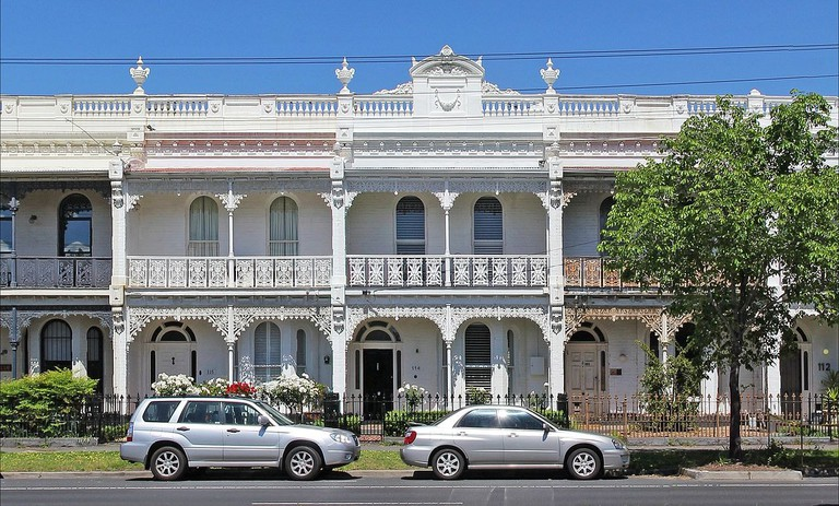 Victorian terrace on Canterbury Road, Middle Park