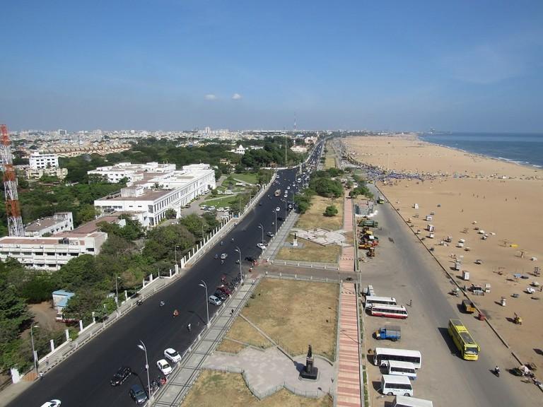 View-from-Marina-Beach-Lighthouse-Chennai-2