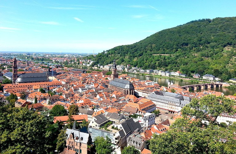 A view from the Heidelberg Castle