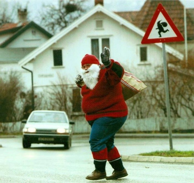 Watch out for Santa!
