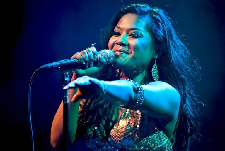 Nimol, meaning flawless, is a popular name in Cambodia. Dengue Fever's front singer is called Chhom Nimol.