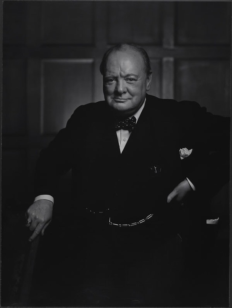 Winston Churchill by Yousuf Karsh, December 1941