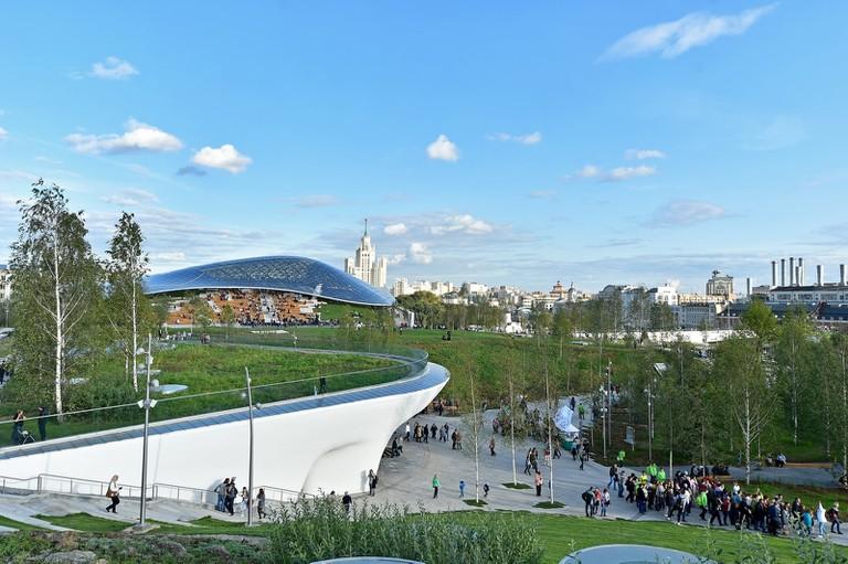 Park Zaryadye in Moscow