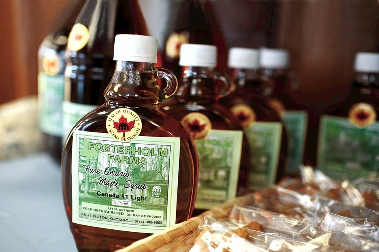 Keep it real with maple syrup
