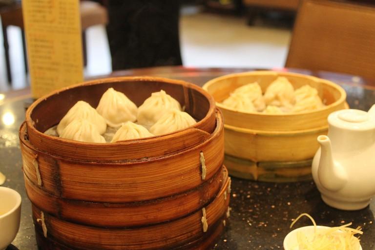 Xiaolongbao, or delicious soup dumplings.