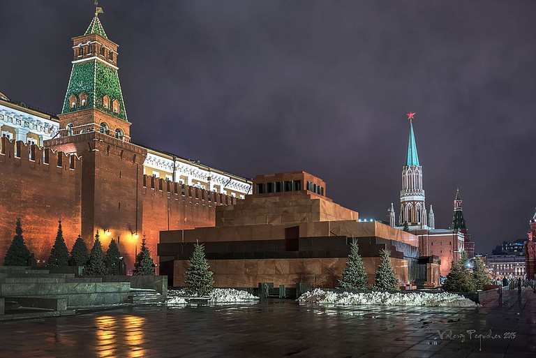 Lenin's Mausoleum attracts throngs of pilgrims annually