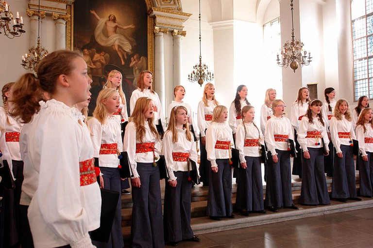 Choirs are a way of life for nearly 10% of Swedes