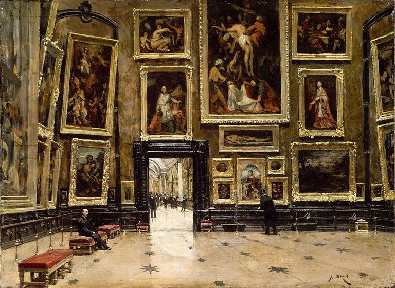 1024px-Alexandre_Brun_-_View_of_the_Salon_Carré_at_the_Louvre