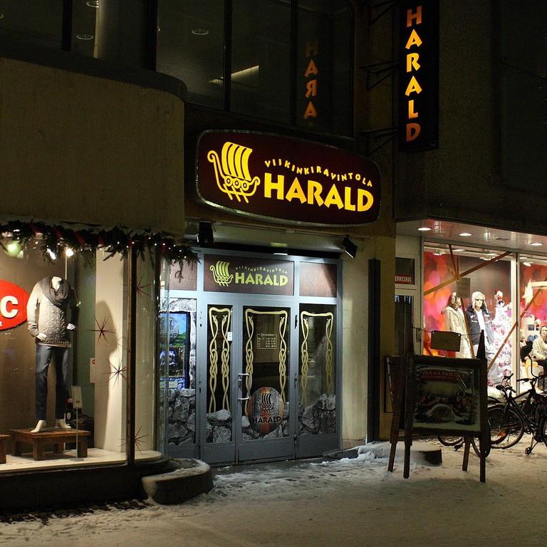 Harold restaurant in Oulu