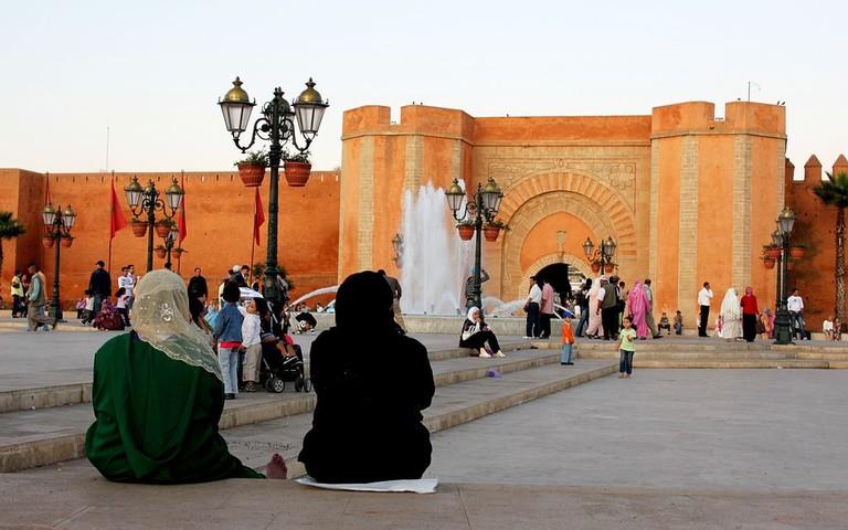 Entrance of the Medina of Rabat