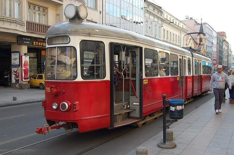 Tram in Sarajevo | © Milan Suvajac/WikiCommons