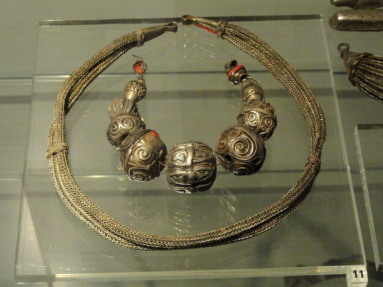 Viking jewellery at the National Museum