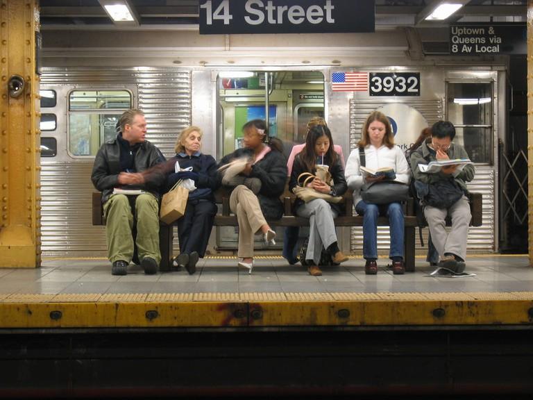 14th Street Subway platform