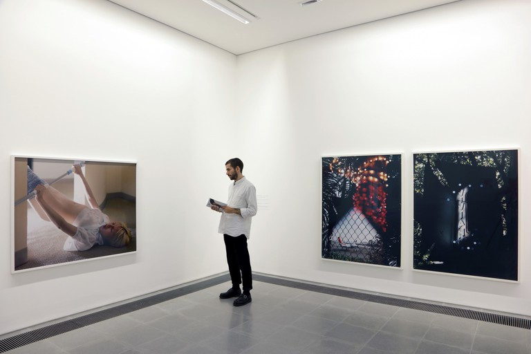Torbjørn Rødland, Installation view, 'The Touch That Made You' Serpentine Sackler Gallery, 2017