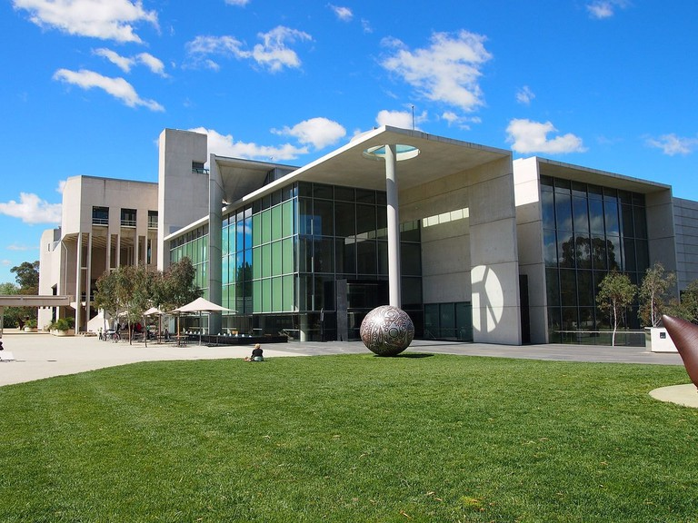 The National Gallery of Australia in October 2012