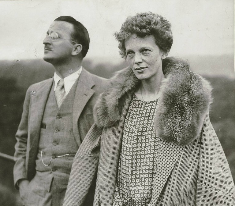 Learn about historic figures such as aviation pioneer Amelia Earhart