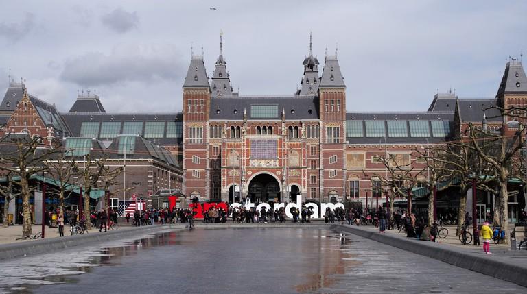 I Amsterdam / Rijks Museum (Explored) | © Roman Boed/Flickr