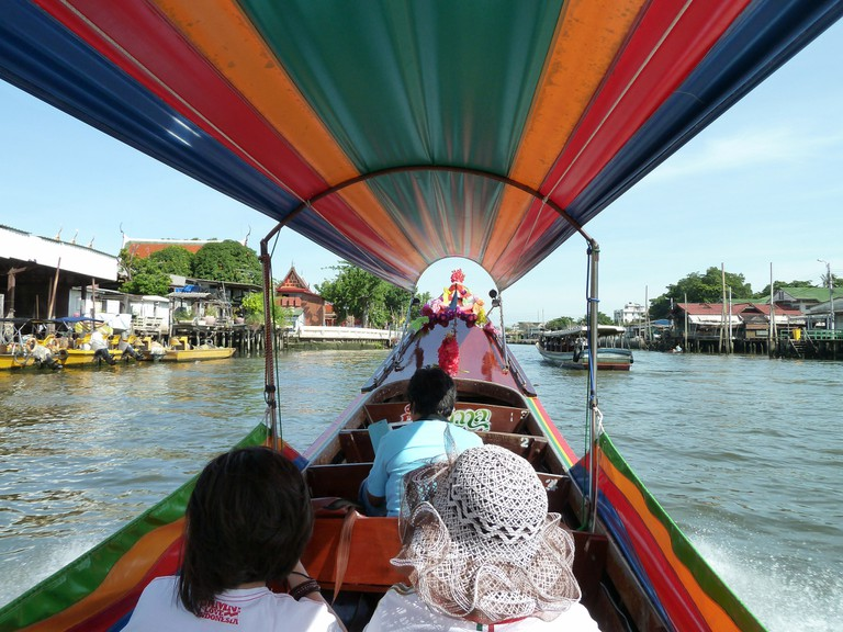 Exploring the Bangkok canals