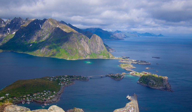 The view from Reine | © Jiang Jiang / Flickr