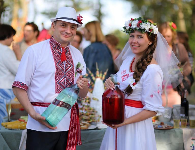 Horilka at wedding