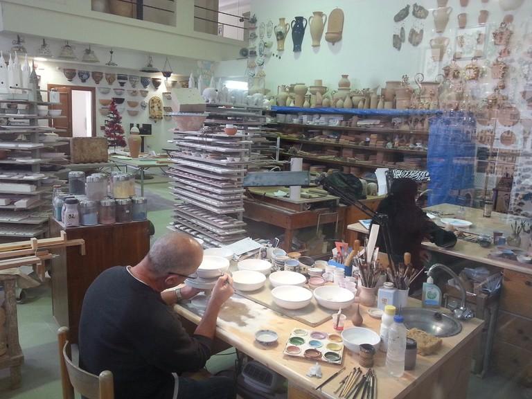 Pottery workshop Ta'Qali