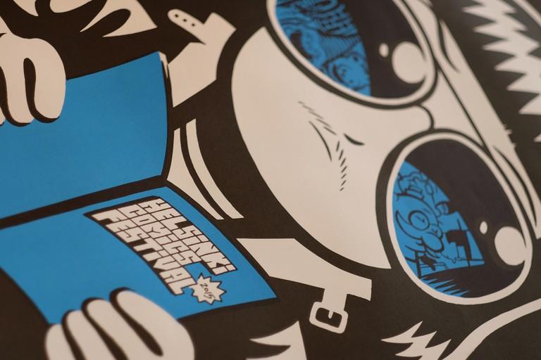 Poster for Helsinki Comics Festival 2015