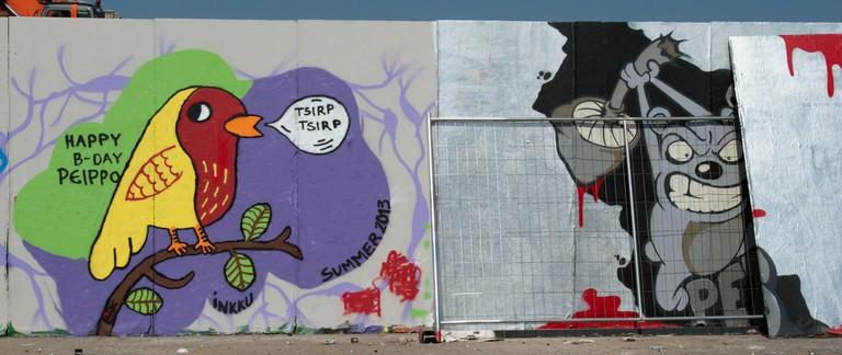 Street art in Sompasaari