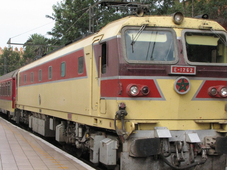 Moroccan train