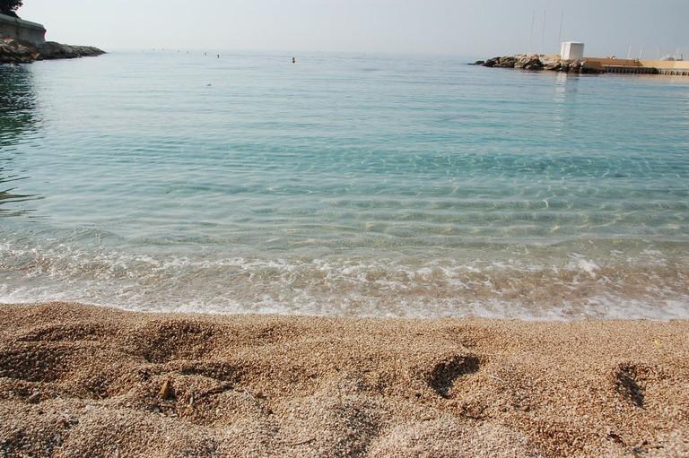 Monaco's beautiful beach