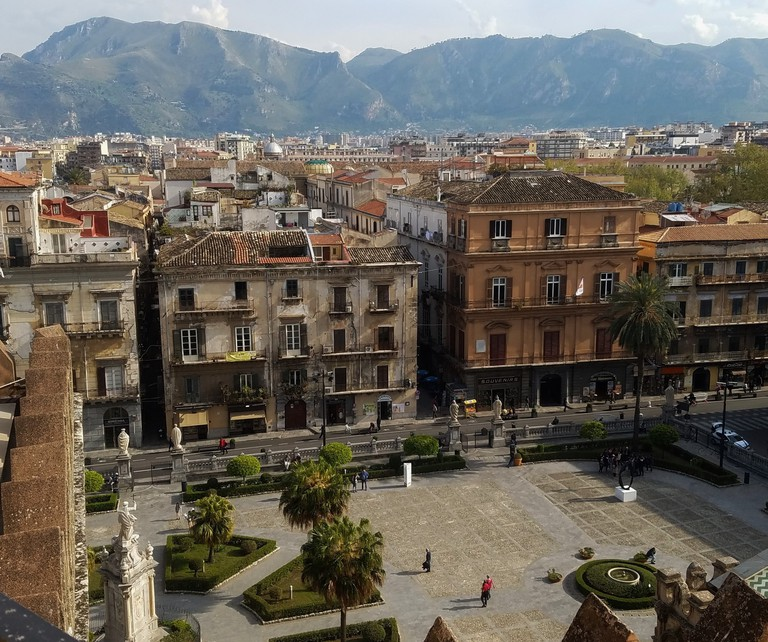 View from Palermo Cathedral