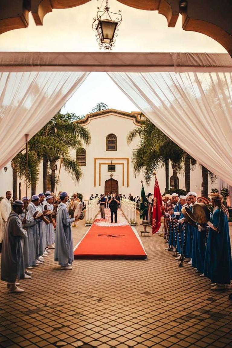 Wedding at Palais Tazi