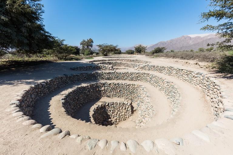 Cantalloc underground aqueducts, Nazca, Peru