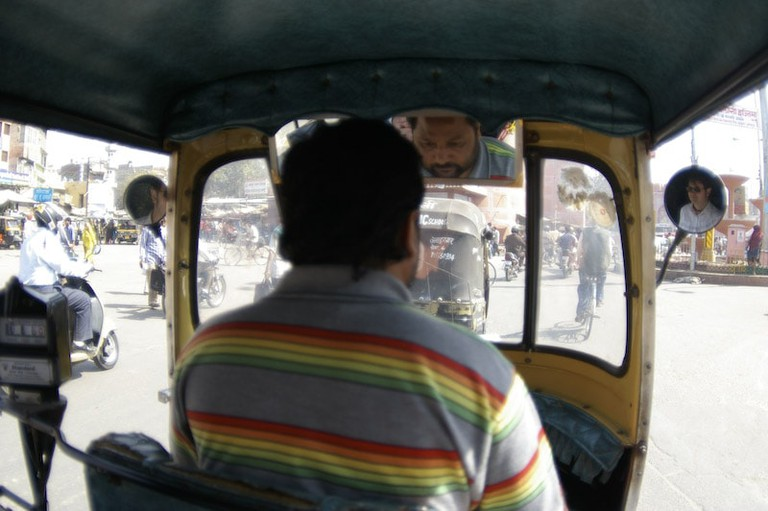 An auto-rickshaw driver will mostly acknowledge your words with a head nod