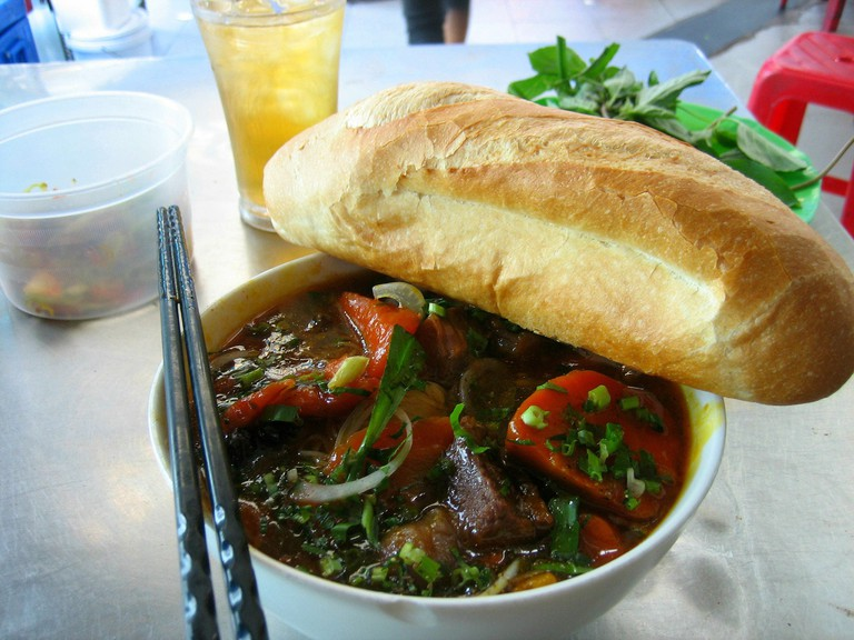 The carrots and baguettes used in bo kho were introduced by the French | © Prince Roy/Flickr