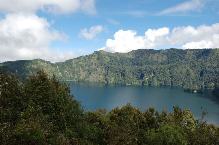Ngozi crater lake