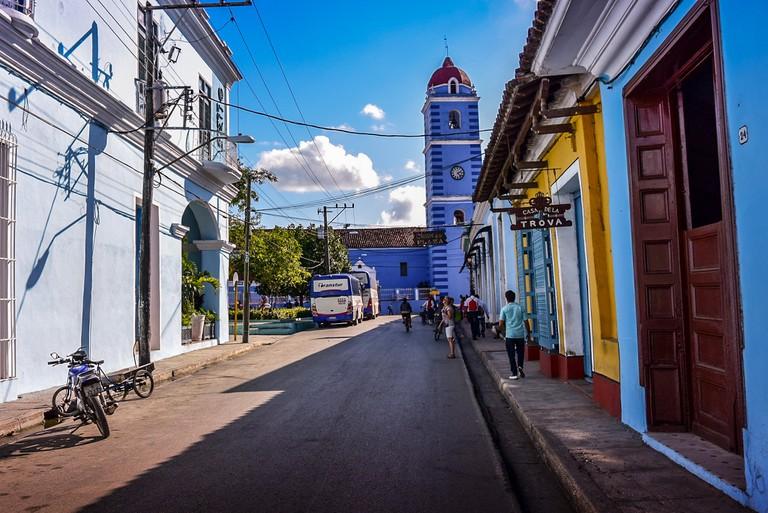 Church in Sancti Spíritus, Cuba