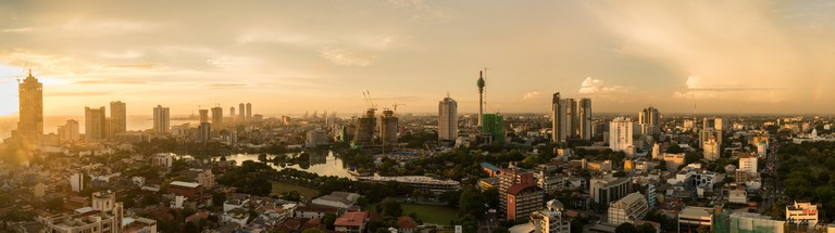The Colombo skyline