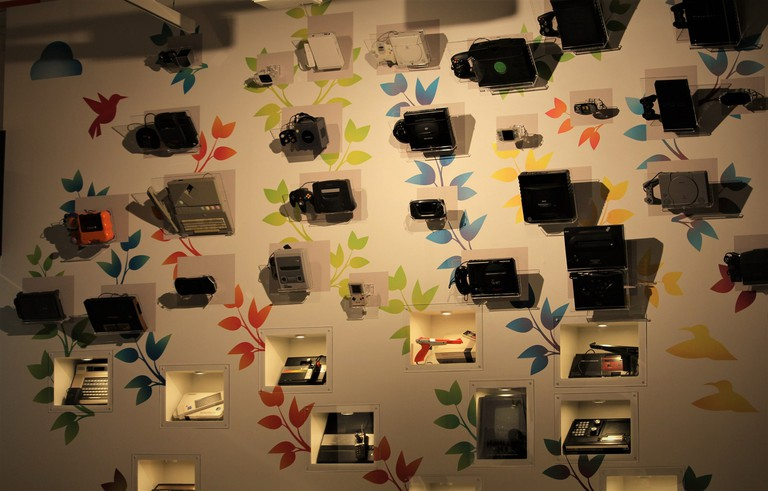 Display at the Finnish Museum of Games