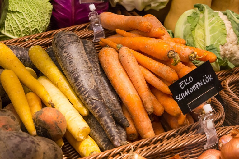 Stockholm is a great place to get organic fresh food