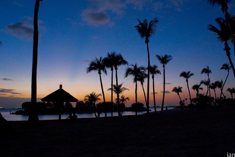 Sunsets at Tanjong Beach
