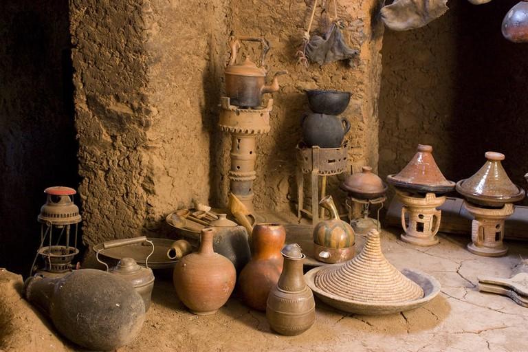 Berber kitchen, Morocco